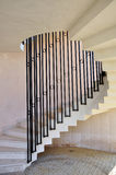 Helical Railing Stairs Stock Photos