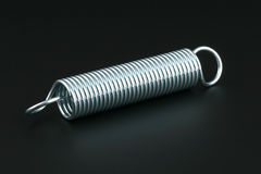 Helical spring Stock Photos