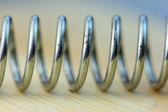 Helical spring Royalty Free Stock Images
