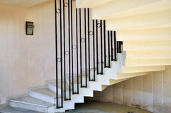 Helical stairs Royalty Free Stock Images