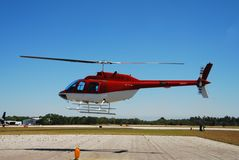 Helicoper hovering Royalty Free Stock Photography