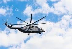 Helicopt Mil Mi-8AMTSH Mi-171SH der russischen Luftwaffe Lizenzfreie Stockfotografie