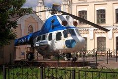 Helicopte turbina-accionado pequeño, ligeramente acorazado del transporte Foto de archivo libre de regalías