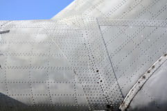 Helicopter's armored plates Stock Photos