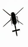 Helicopter. Taken from directly below Royalty Free Stock Photos