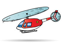 The helicopter Royalty Free Stock Images