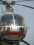 Helicopter. Detail of the front Royalty Free Stock Images