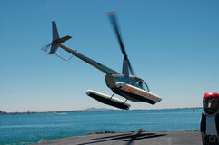 Helicopter. Royalty Free Stock Photography