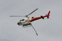 Helicopter. Image taken of a helicopter Royalty Free Stock Photography