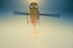 Helicopter in air Stock Photos