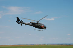 Helicopter air show Stock Photography