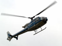 Helicopter airborne close-up Royalty Free Stock Images