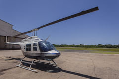 Helicopter Airport Royalty Free Stock Image