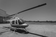 Helicopter Airport Stock Images