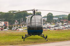 Helicopter at the airshow Stock Photo