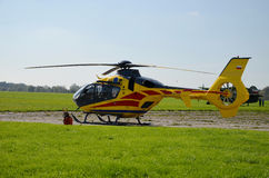 Helicopter ambulance Stock Photos
