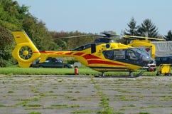 Helicopter ambulance Stock Photography