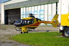 Helicopter ambulance Royalty Free Stock Photo