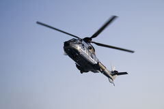 Helicopter: AS 332 L1 Super Puma Euro Copter Royalty Free Stock Images