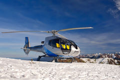 Helicopter Baikal Royalty Free Stock Images