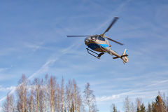 Helicopter Baikal Royalty Free Stock Image