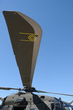 Helicopter blade Stock Photo