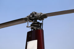 Helicopter  Blades Royalty Free Stock Photography