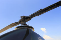 Helicopter blades Royalty Free Stock Photo