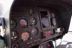 Helicopter cabin Royalty Free Stock Photo