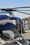Helicopter Chopper abstract open door Royalty Free Stock Images