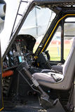 Helicopter cockpit. The cockpit of an American military helicopter Stock Photography