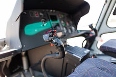 Helicopter cockpit Stock Photography