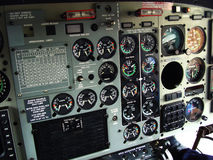 Helicopter cockpit vector illustration
