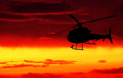 Helicopter! Stock Photo