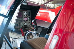 Helicopter dashboard Stock Photography