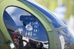 Helicopter dashboard. Stock Photography
