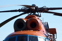 Helicopter detail Royalty Free Stock Images