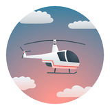 Helicopter Detailed Illustration Stock Image
