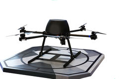 Free Helicopter Drone Stock Photography - 40324572