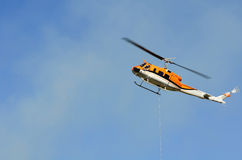 Helicopter Drop Royalty Free Stock Images