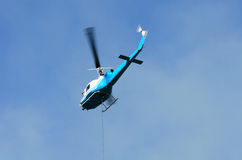 Helicopter Drop Royalty Free Stock Image