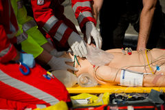 Helicopter Emergency Medical Services Royalty Free Stock Images