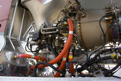 Helicopter engine Royalty Free Stock Image