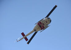 Helicopter firefighter at Grizzly Peak Stock Photography