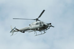 Helicopter in flight Royalty Free Stock Images