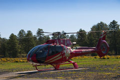 Helicopter flight leaving for the Grand Canyon Royalty Free Stock Photography