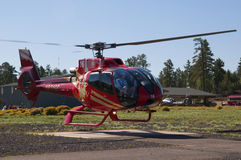Helicopter flight leaving for the Grand Canyon Royalty Free Stock Photos