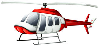 A helicopter flying Stock Images