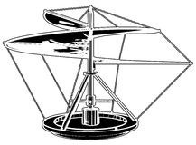 Helicopter Flying Machine Invention Vector Stock Photography