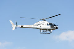 Helicopter. In front of blue sky Stock Images